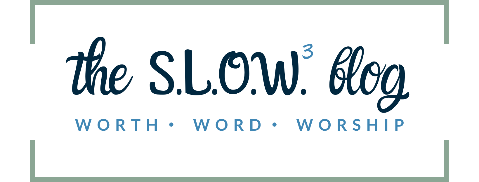 The S.L.O.W. Blog